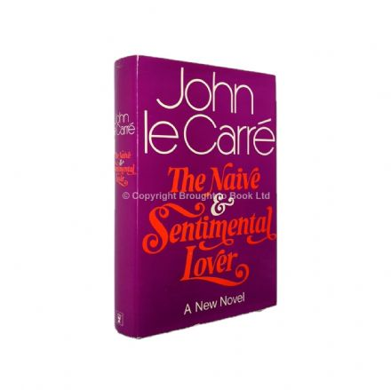 The Naive and Sentimental Lover Signed John le Carré Ronnie Cornwell First Edition 1971